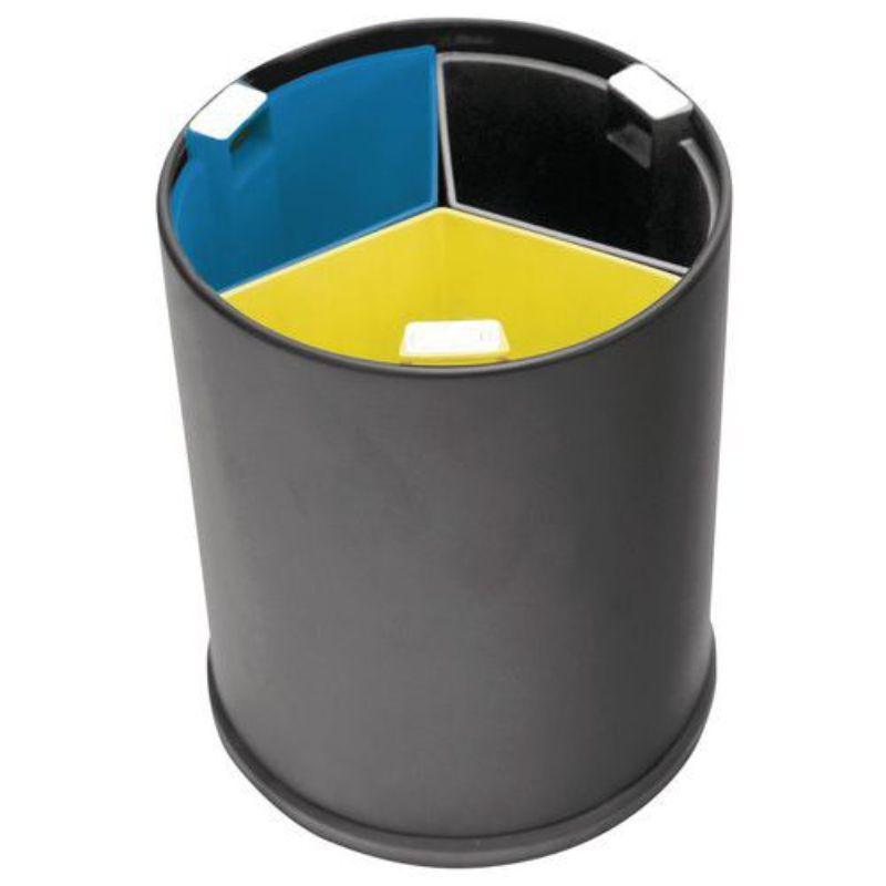 pattumiera-da-camera-3-scomparti-vaschette-colorate-13-l